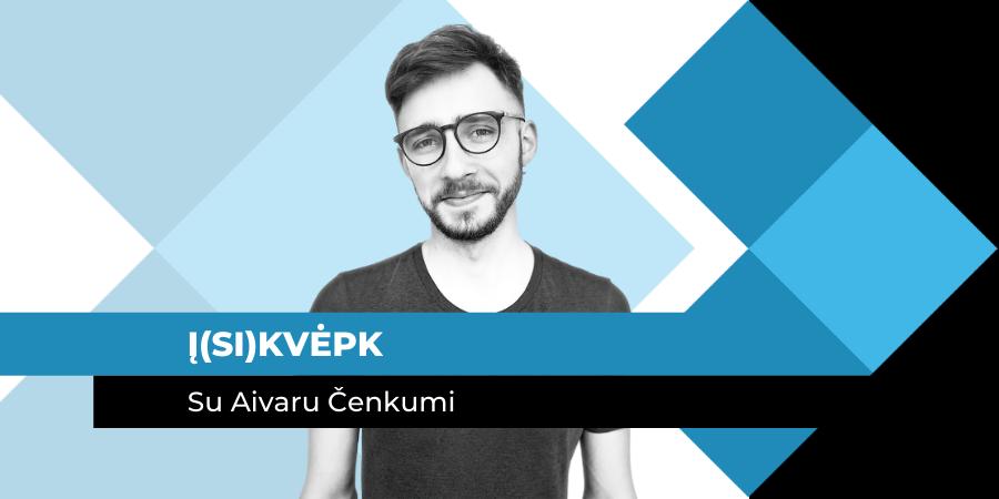 Įsikvėpk su Aivaru Čenkumi | marketingo-mokykla.lt